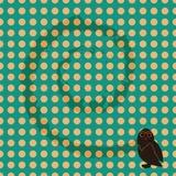 无缝的猫头鹰 免版税库存图片