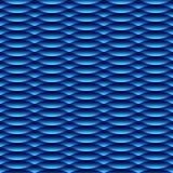 无缝的现代蓝色样式 皇族释放例证