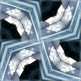 无缝的玻璃模式背景7 免版税图库摄影