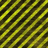 无缝的盖瓦警告条纹 免版税库存照片