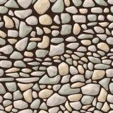 无缝的石模式 免版税库存照片