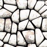 无缝的石模式 库存图片