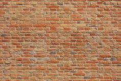 无缝的砖墙纹理 图库摄影