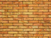 无缝的砖墙纹理 库存照片