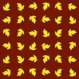 无缝的秋季纹理 库存照片