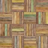 无缝的篮子木条地板纹理 免版税库存图片