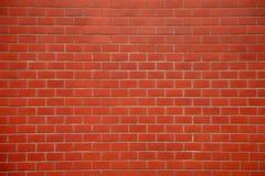 无缝的红砖墙壁纹理背景 免版税库存照片