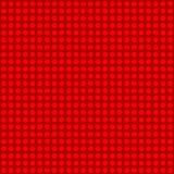 无缝的红色圆点样式 库存照片
