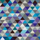 无缝的纹理三角 库存图片