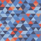 无缝的纹理三角 图库摄影