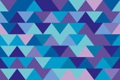 无缝的纹理三角 免版税库存照片