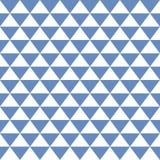 无缝的纹理三角 免版税库存图片