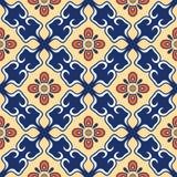 无缝的纹理向量 设计的美好的色的与装饰元素的样式和时尚 葡萄牙语 免版税库存照片
