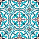 无缝的纹理向量 设计的美好的色的与装饰元素的样式和时尚 免版税图库摄影