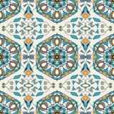 无缝的纹理向量 设计的美好的色的与装饰元素的样式和时尚 库存照片