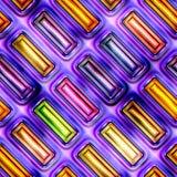 无缝的纹理抽象发光五颜六色 库存图片