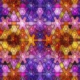 无缝的纹理抽象发光五颜六色 库存照片