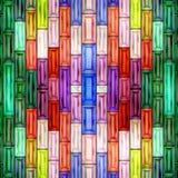无缝的纹理抽象发光五颜六色 免版税库存照片
