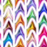 无缝的纹理抽象明亮发光五颜六色 库存照片