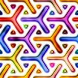无缝的纹理抽象明亮发光五颜六色 图库摄影
