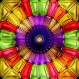 无缝的纹理抽象明亮发光五颜六色 库存图片
