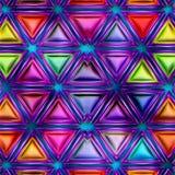 无缝的纹理抽象明亮发光五颜六色 免版税库存图片