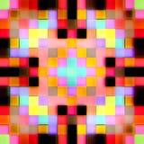 无缝的纹理抽象明亮发光 免版税库存照片