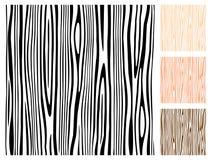 无缝的纹理木头 向量例证