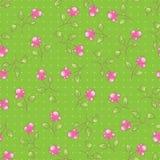 无缝的绿色模式 免版税图库摄影