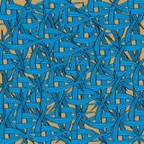 无缝的编织的模式背景 免版税库存图片