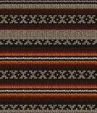 无缝的编织毛线衣样式 免版税图库摄影