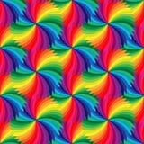 无缝的美好的五颜六色的几何样式 适用于纺织品,织品和包装 免版税图库摄影