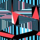 无缝的美好的几何样式 免版税图库摄影