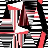 无缝的美好的几何样式 图库摄影