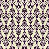无缝的老牌样式 背景几何老装饰品纸张葡萄酒 经典样式纹理 对墙纸,纺织品,织品,便条纸 免版税库存照片