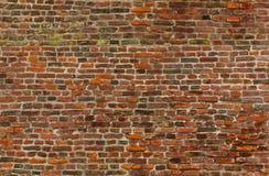 无缝的老砖墙纹理 免版税库存照片