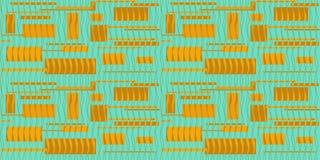无缝的背景quadrato传染媒介 库存图片