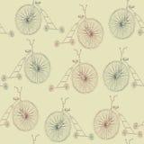 无缝的自行车 免版税图库摄影
