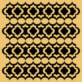 无缝的艺术装饰背景纹理样式 库存例证