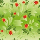 无缝的花卉样式。 免版税图库摄影