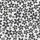 无缝的花卉样式减速火箭的背景 免版税库存图片
