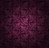 无缝的花卉样式背景。锦缎豪华皇家样式墙纸。锦缎无缝的花卉样式。葡萄酒 免版税图库摄影
