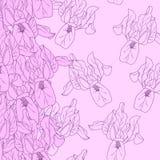 无缝的花卉样式 库存图片