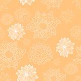 无缝的花卉模式 向量例证