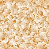 无缝的花卉背景 免版税库存图片
