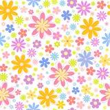 无缝的花卉背景 库存照片
