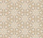无缝的花卉马赛克模式 免版税库存照片