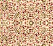 无缝的花卉马赛克模式 免版税图库摄影