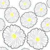 无缝的花纹花样 库存图片