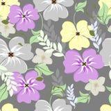 无缝的花纹花样 库存照片